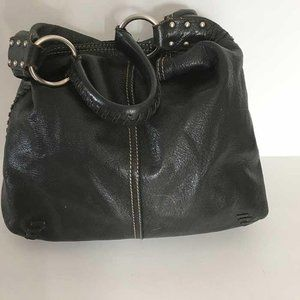 Lucky Brand soft pebbled leather hobo